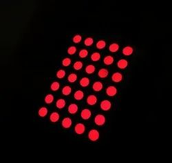 5x7 Round Dot Matrix LED Display