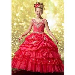 d48d8b4a9 Net And Satin Party Wear Kids Ball Gowns, Rs 15000 /piece, S.B. ...