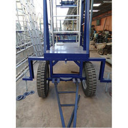 Jeep Tyre Wheel Base Trolley