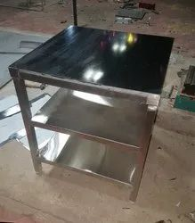 Steel And Granite Table