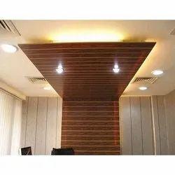 Galvanised Rectangular PVC Ceiling Panel, For Residential & Commercial, Packaging Type: Roll