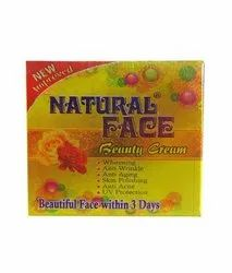 Whitening, Anti Anging, Skin Polishing, Anti Acne, UV Protection Natural Face Beauty Cream