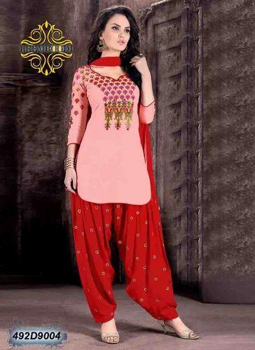 3003771049 Cotton Patiala Salwar Suit, Rs 780 /piece, Leemboodi Fashion | ID ...