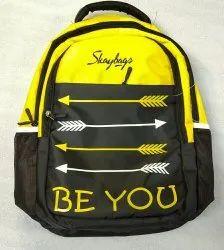 Polyester Sky Back Pack Bag, Capacity: 20 Litters