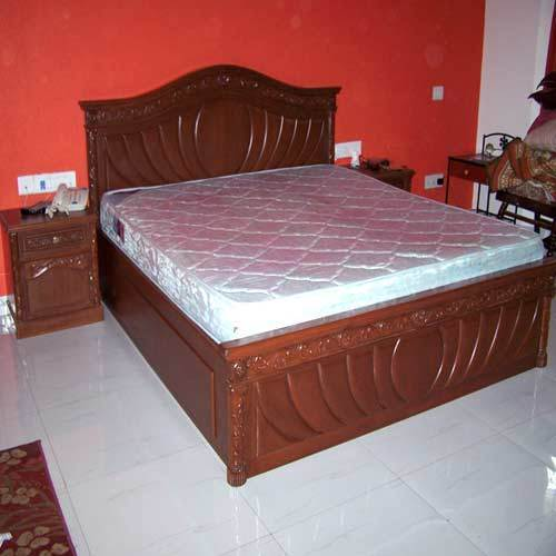 Murphy Bed Price In India: Wood Brown Wooden Double Bed, Rs 28000 /piece, SPL