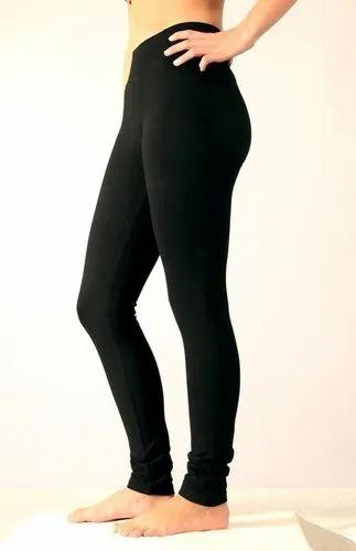 512104e79bb30a Straight Fit Plain Ladies Legging, Rs 125 /piece, M D Fashion | ID ...