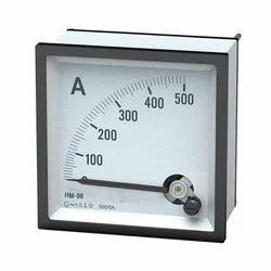 DC Ampere Meter Analog
