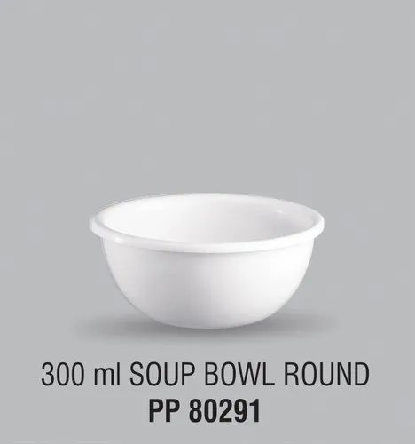 Swift Food Grade Virgin Plastic Round Soup Bowls