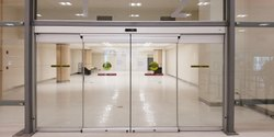 Automatic Sliding Door, For Commercial