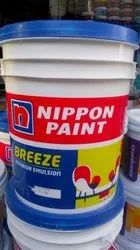 soft sheen Water Based Paint Nippon Paint Breeze, for Interior, Packaging Type: Bucket