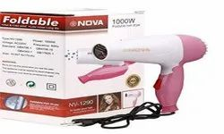 NV-1290 Pink Nova Shining Professional Foldable Hair Dryer