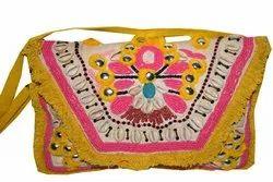 Embroidered Banjara Clutch Bag By Banjara Textile