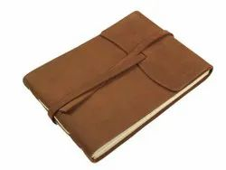 Leather Cover Photo Album Handmade Paper