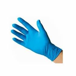 Wurth Nitrile Disposable Unpowdered Gloves Blue Pack of 100. Large