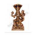5 Inches Brass Narsimha Swamy Statue