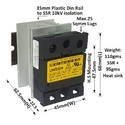 50 AMP AC to AC SOLID STATE RELAY