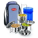 Esteelo Fortune 4 Stainless Steel Insulated Tiffin
