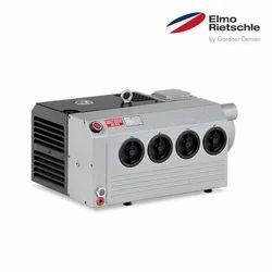 Elmo Rietschle VC V-Series Oil Lubricated Rotary Vane Vacuum Pump, Speed: 1450 M-1