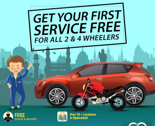 Car Service Center in Jubilee Hills, Hyderabad | ID: 20584493388