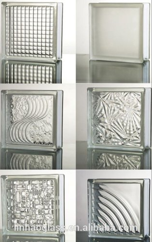 Transpa Glossy Decorative Glass, Decorative Glass Blocks