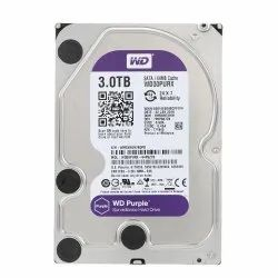 HDD WD Surveillance Hard Disk, Memory Size: 3 Tb
