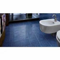 Ceramic Bathroom Floor Tile, Size: 2 x 2 Feet