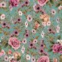 American Crepe Printed Fabric