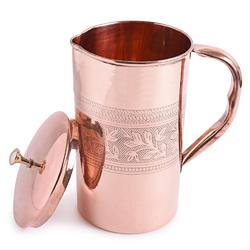 Frestol Embossed Copper Jug