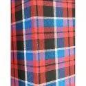 Check Fancy Poly Cotton Mattress Fabric