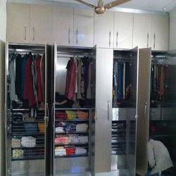 Stainless Steel Wardrobe
