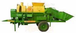 Agriculture Mini Combine Cutter Thresher