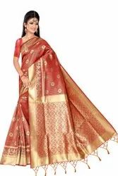 Fancy Kalamkari Silk Sarees