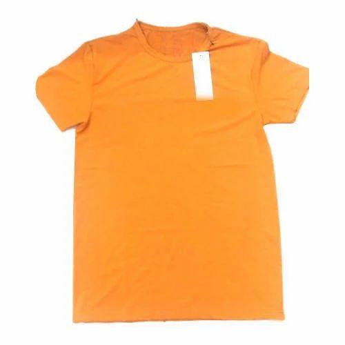 5e5fb6af028a2 Mens Cotton Half Sleeve Round Neck T Shirt