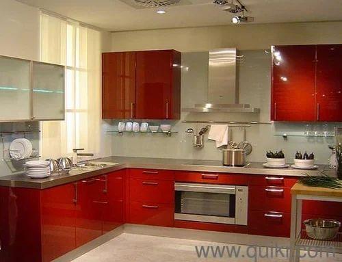 Kutchina 4 2 Ft Size Modular Kitchen Rs 44990 Unit Kutchina Modular Kitchen Id 18436675188