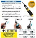 screwdriver 360 degree screw driver ( IT N - 416 )