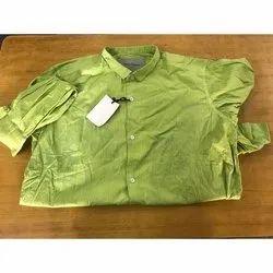 Long Sleeve Cotton Mens Casual Shirt
