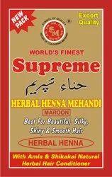 Supreme Maroon Henna Powder