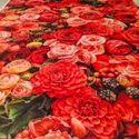 Floral Print Tent Carpet
