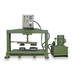 Semi Automatic Hydraulic Paper Plate Machine