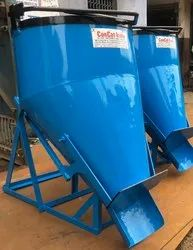 Lever Operated Concrete Bucket