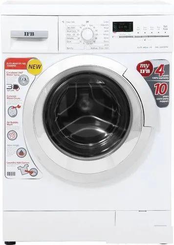 IFB 7 kg Fully Automatic Front Load Washing Machine, Elite Aqua VX, White