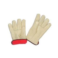 Orange Grain Industrial Palm Glove