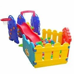 Elephant Slide Combo With Ball Pool