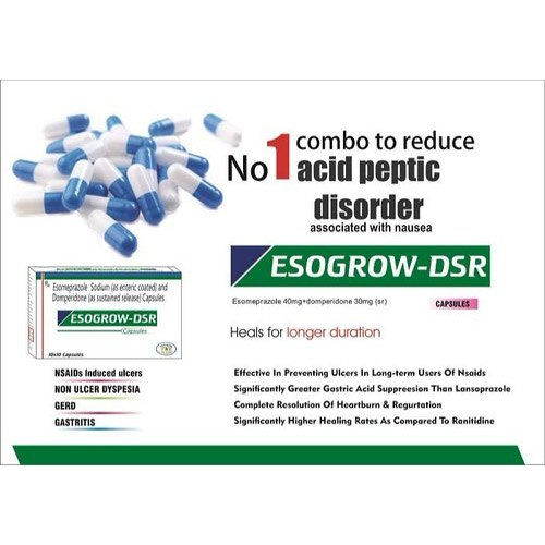 Esogrow -DSR Allopathic Esomeprazole Sodium And