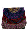 Mandala Peacock Printed Cotton Travel Hand Bag
