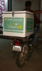 Laundry Bike Delivery Boxes