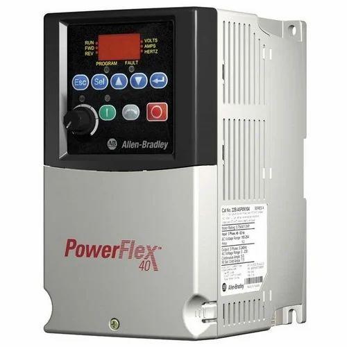 allen bradley three phase powerflex 40 ac drives, rs 10000 piece