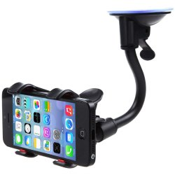 Car Phone Mount Windshield, Car Dashboard Suction Cup Cell Mobile Phone Holder
