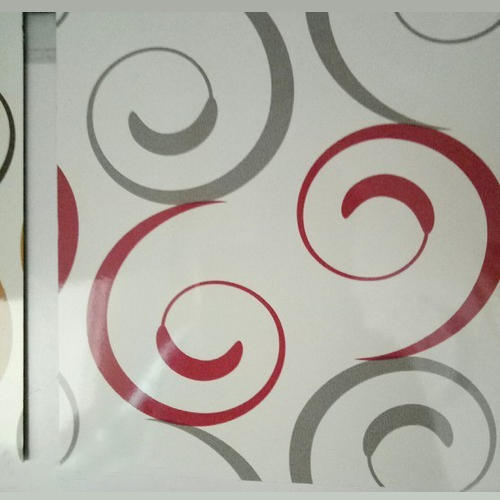 Glossy Designer Laminated Sheet, Thickness (mm): 5 mm, for Indoor