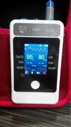 Palm Handy Patient Monitor